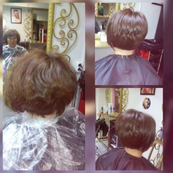 Окрашивание,стрижка,укладка. До и после. Работа парикмахера-универсала Ольги Бобровой